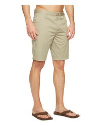 Reef | Natural Moving On 3 Shorts for Men | Lyst