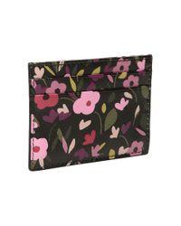 Kate Spade - Multicolor Cameron Street Boho Floral Card Holder - Lyst