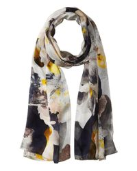 Vince Camuto - Multicolor Floral Photo Clash Oblong Scarf - Lyst