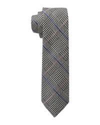 Lauren by Ralph Lauren - Black Glen Plaid Silk Tie for Men - Lyst