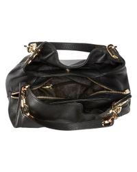 MICHAEL Michael Kors - Fulton Large Shoulder Tote (black) Handbags - Lyst