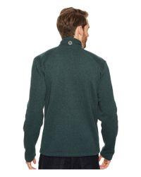 Marmot | Green Drop Line 1/2 Zip for Men | Lyst