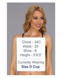 Body Glove - Black Smoothies Solo Underwire Top D-dd-e-f Cup - Lyst