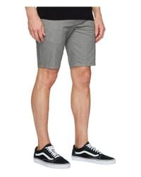 Quiksilver - Gray New Everyday Union Stretch Chino for Men - Lyst