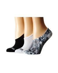 Converse - Floral Sublimated (black/white) Women's No Show Socks Shoes - Lyst