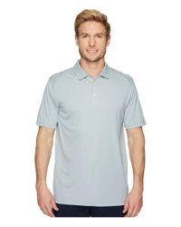 PUMA Blue Essential Pounce Polo (quarry) Men's Short Sleeve Pullover for men