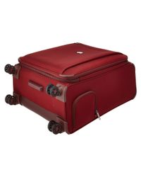 "Delsey - Red Montmartre 25"" Expandable Spinner Suiter Trolley - Lyst"