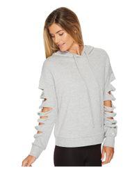 Alo Yoga - Gray Slay Long Sleeve Top - Lyst