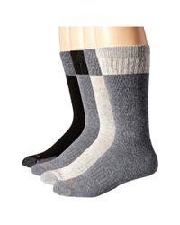 Carhartt | Black Comfort And Durability Crew Socks 4-pack for Men | Lyst