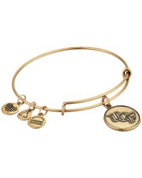 ALEX AND ANI - Metallic University Of Central Florida® Logo Charm Bangle - Lyst