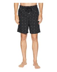 Lacoste - Sleep Shorts Woven (black) Men's Pajama for Men - Lyst