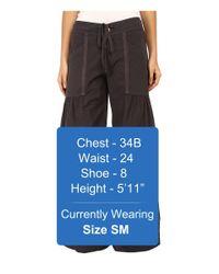 XCVI - Gray Willow Wide Leg Stretch Poplin Pants (cloud) Women's Casual Pants - Lyst