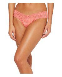 Hanky Panky - Orange Signature Lace Low Rise Thong (garland Green) Women's Underwear - Lyst