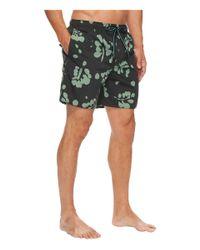 866164c57372e Quiksilver Los Palmas Volley Shorts (coal) Men's Shorts in Green for ...