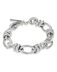 Pomellato - Metallic B.b220t/a/22 22cm Rondelle Oval Bracelet - Lyst