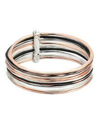 Robert Lee Morris - Metallic Bracelet Bangle Set - Lyst