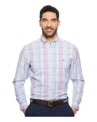 Vineyard Vines - Blue New Providence Plaid Classic Tucker Shirt for Men - Lyst