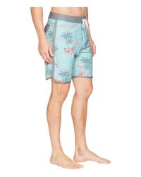 Billabong - Blue 73 Lt Lineup Boardshorts (aqua) Men's Swimwear for Men - Lyst