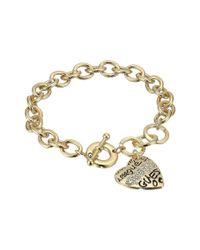 Guess - Metallic Toggle Bracelet I (gold) Bracelet - Lyst