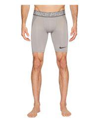 Nike - Gray Pro Hypercool Short for Men - Lyst