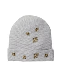 BCBGMAXAZRIA | Gray The Bees Knees Beanie | Lyst