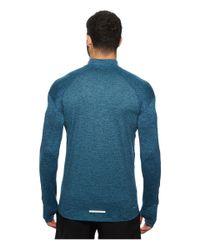 Nike - Blue Dry Element 1/2 Zip Running Top for Men - Lyst