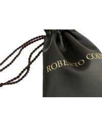 Roberto Coin - Metallic Tiny Treasures Circle Pendant With Diamonds - Lyst