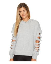 Alo Yoga - Gray Slay Long Sleeve Top - Lyst