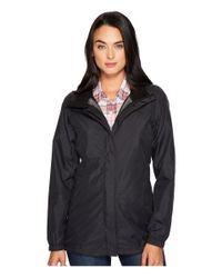 The North Face - Black Resolve Parka (mid Grey) Women's Coat - Lyst