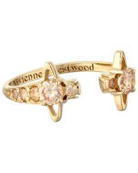Vivienne Westwood | Metallic Reina Ring | Lyst
