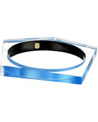 Alexis Bittar | Multicolor Asymmetrical Pentagon Bangle Bracelet | Lyst