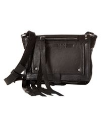McQ - Black Mini Crossbody - Lyst