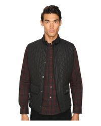 Belstaff | Black Waistcoat Lightweight Technical Quilts Vest Liner for Men | Lyst