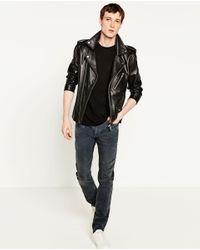 Zara | Gray Slim Fit Jeans for Men | Lyst