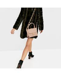 Zara | Pink Mini City Bag With Chain Handle | Lyst