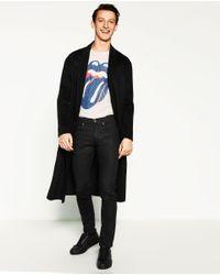 Zara | Black Basic Slim Jeans for Men | Lyst