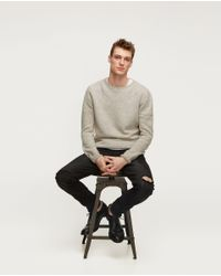 Zara | Black Skinny Fit Jeans for Men | Lyst