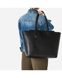 Zara | Black Zip-up Tote | Lyst