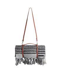 Zimmermann | Black Turkish Towel & Leather Carry | Lyst
