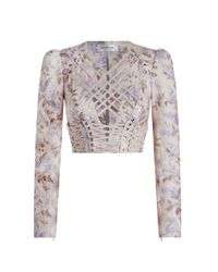Zimmermann - Multicolor Stranded Laced In Bodice - Lyst