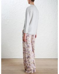 Zimmermann - Multicolor Bowerbird Sweater - Lyst
