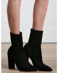 Zimmermann | Black Stretch Ankle Boot | Lyst