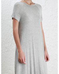 Zimmermann | Gray Swing Dress | Lyst