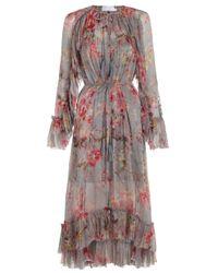 Zimmermann | Multicolor Mercer Floating Dress | Lyst
