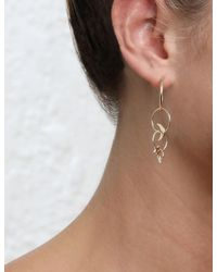Zimmermann - Multicolor Star Moon Link Fine Earring - Lyst