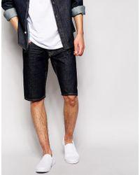 Quiksilver - Shorts In Rinse Denim - Blue - Lyst