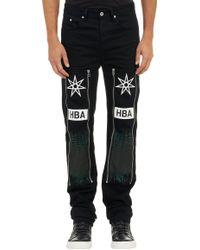 Hood By Air Industrial Zip Five Pocket Jeans - Lyst