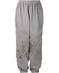 Ashish Ruffle Track Trousers - Lyst