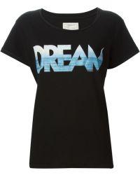 Current/Elliott 'Dream' Logo Print T-Shirt - Lyst