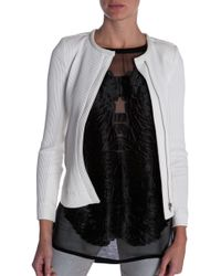 Iro White Brock Jacket - Lyst